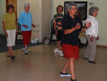 Teaching at Whitefish Senior Center